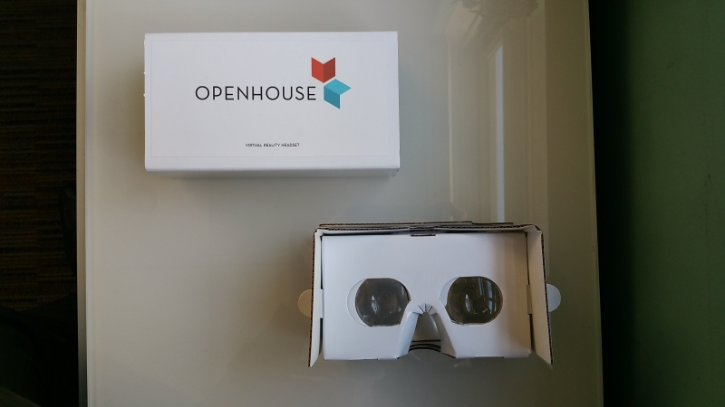 OpenHouse Virtual Reality Viewer
