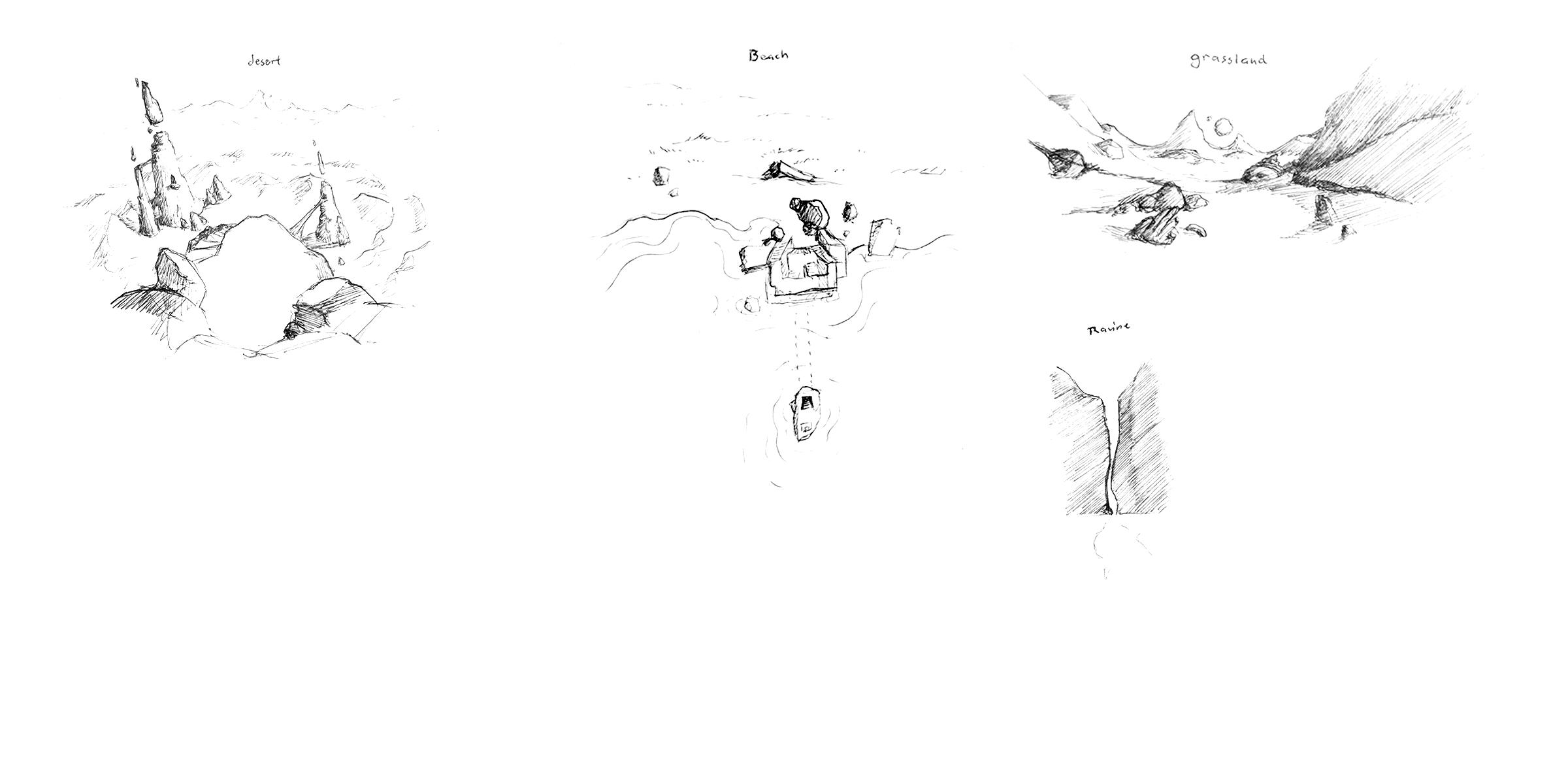Art Board 1: Desert