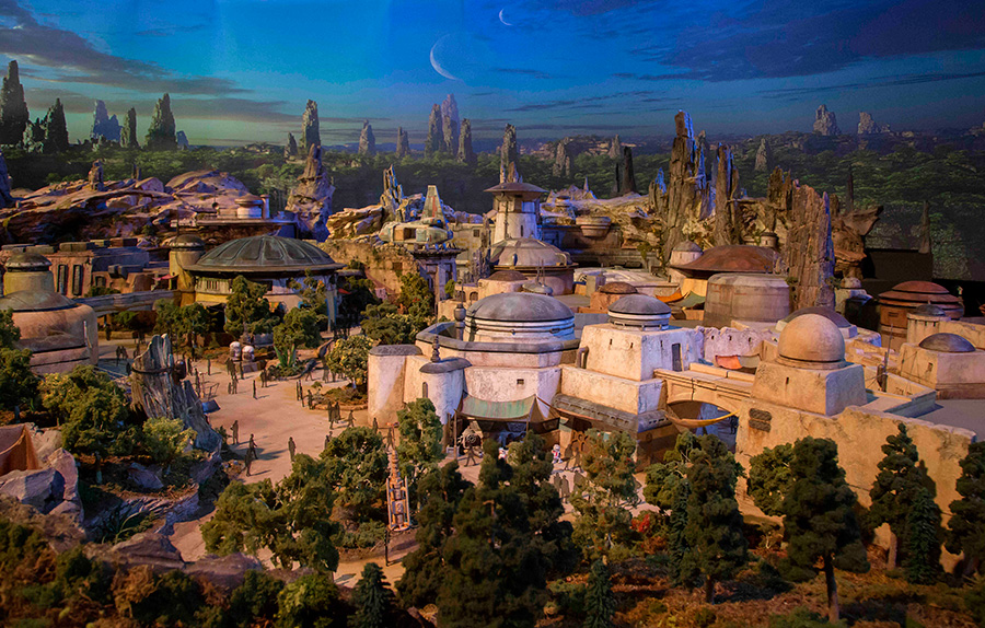 Star Wars Walt Disney Park