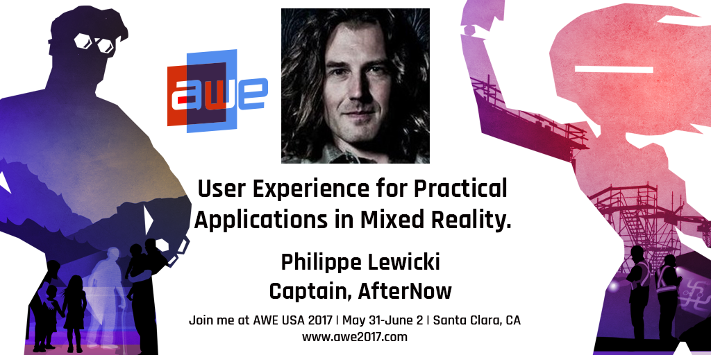 Talk at AWE on UX for practical application in MR