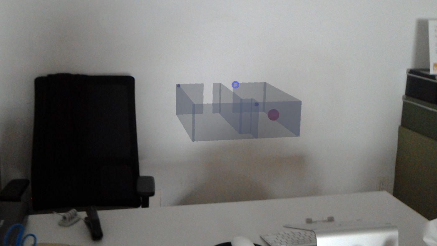 We've built a mini map for Hololens so you can navigate your space.