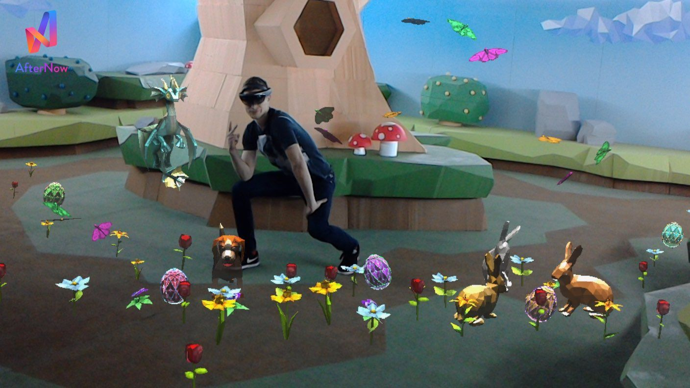 Case Study: Mixed Reality Easter Egg Hunt
