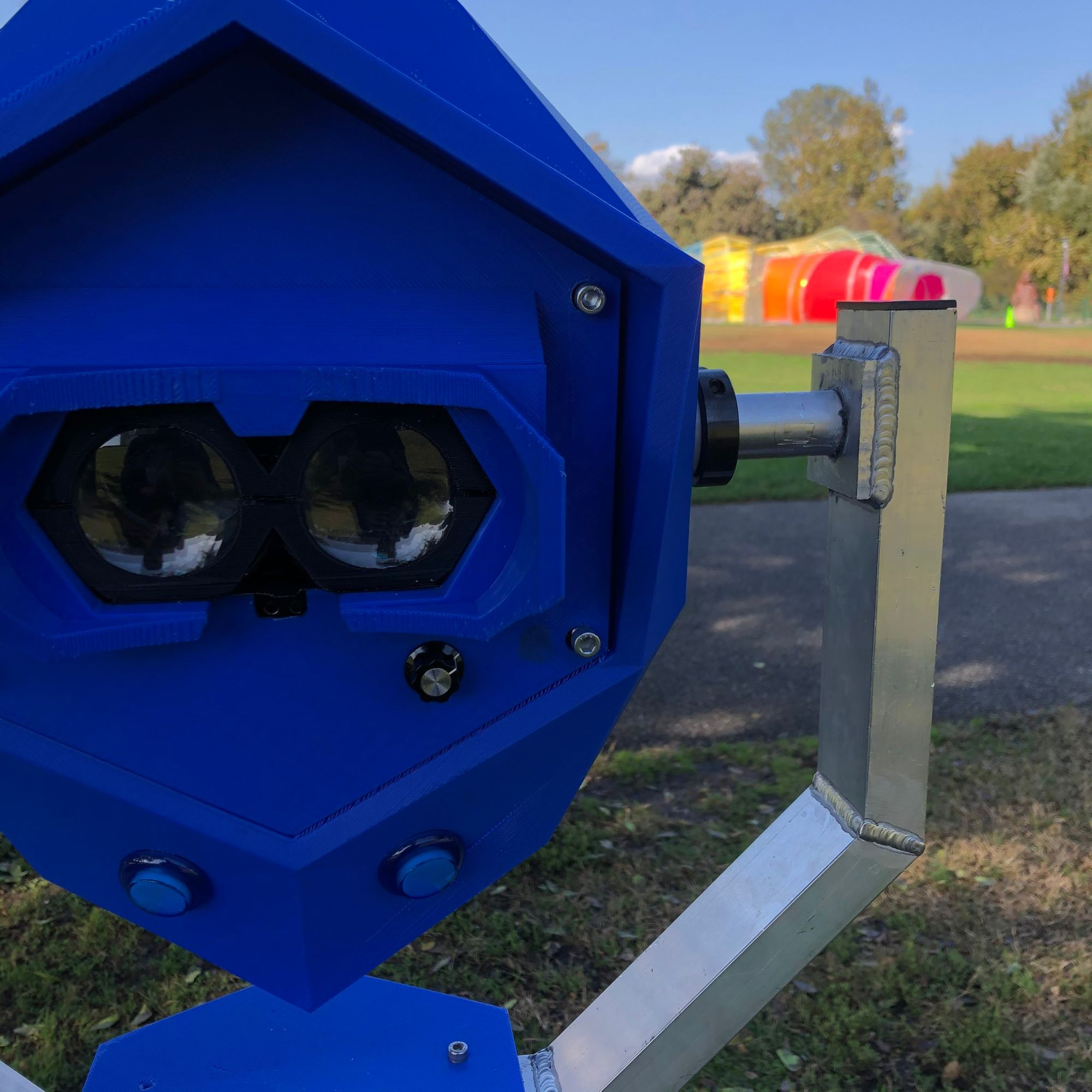 Perceptoscope: augmented reality for parks, cityscape, and museums